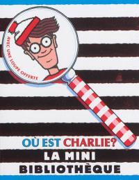 Où est Charlie ? : la mini bibliothèque : cinq mini livres et une loupe