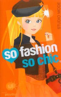 So fashion so chic : studio mode : orange