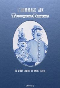 L'hommage aux Tuniques bleues de Willy Bambil et Raoul Cauvin