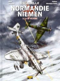 Escadrille Normandie-Niemen. Volume 2, La 1ère victoire