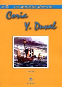 Les meilleurs récits de.... Volume 34, Les meilleurs récits de Coria, Y. Duval