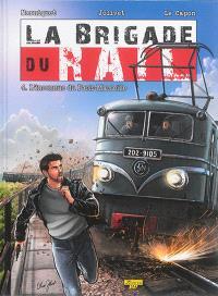 La brigade du rail. Volume 4, L'inconnue du Paris-Marseille