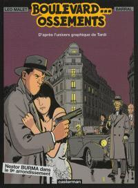 Nestor Burma. Volume 8, Boulevard...ossements : Nestor Burma dans le 9e arrondissement