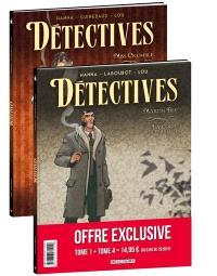 Détectives : pack : tomes 1 et 4