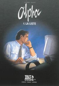 Alpha. Volume 4, La liste