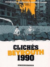 Clichés Beyrouth 1990