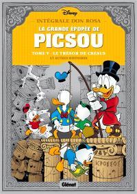 La grande épopée de Picsou. Volume 5, Le trésor de Crésus : et autres histoires