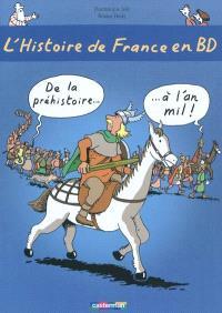 L'histoire de France en BD. Volume 1, De la préhistoire à l'an mil
