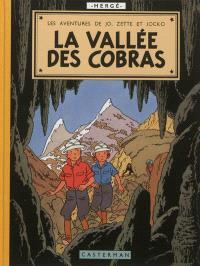 Les aventures de Jo, Zette et Jocko, La vallée des cobras