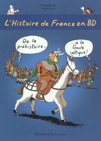L'histoire de France en BD. Volume 1, De la préhistoire à la Gaule celtique !