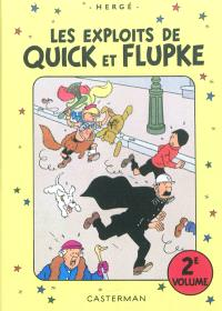 Les exploits de Quick et Flupke : intégrale. Volume 2