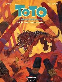 Toto l'ornithorynque. Volume 7, Toto l'ornithorynque et le lion marsupial