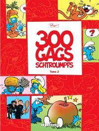 300 gags de Schtroumpfs. Volume 2