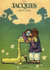 Jacques, le petit lézard géant. Volume 2, Jacques a plein d'amis