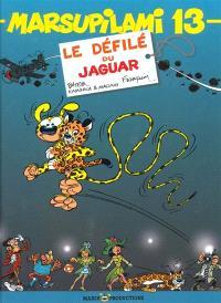 Marsupilami. Volume 13, Le défilé du jaguar