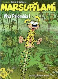 Marsupilami. Volume 20, Viva Palombia !