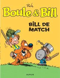 Boule et Bill. Volume 11, Bill de match