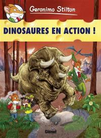 Geronimo Stilton. Volume 08, Dinosaures en action !