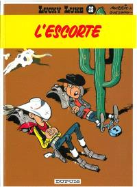 Lucky Luke. Volume 28, L'escorte