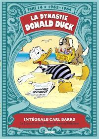 La dynastie Donald Duck. Volume 14, La couronne des Mayas et autres histoires : 1963-1964