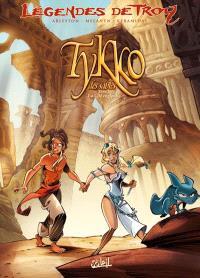 Légendes de Troy, Tykko des sables. Volume 2, La cité engloutie