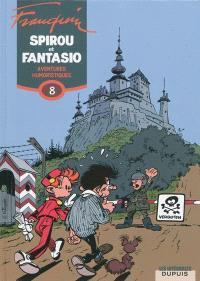 Spirou et Fantasio. Volume 8, Aventures humoristiques : 1961-1967