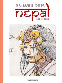 25 avril 2015, Népal : la BD se mobilise