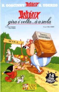 Astérix et la rentrée gauloise en langues de France. Volume 2004, Astérix gira è volta... à a scola