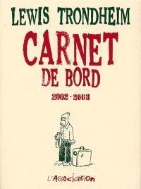 Carnet de bord : 2002-2003