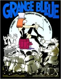 Grange bleue