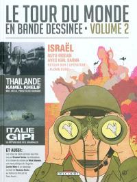 Le tour du monde en bande dessinée. Volume 2