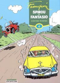 Spirou et Fantasio. Volume 4, Aventures modernes : 1954-1956