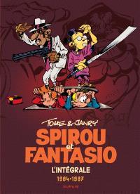 Spirou et Fantasio : l'intégrale. Volume 14, 1984-1987