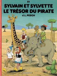 Sylvain et Sylvette. Volume 51, Le trésor du pirate