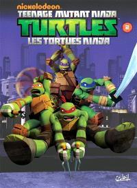 Teenage mutant ninja Turtles : les Tortues ninja. Volume 2, La menace des Kraang