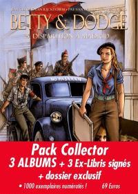 Betty & Dodge : pack collector : 3 albums + 3 ex-libris signés + dossier exclusif