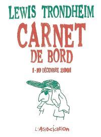 Carnet de bord : 1er-10 décembre 2001