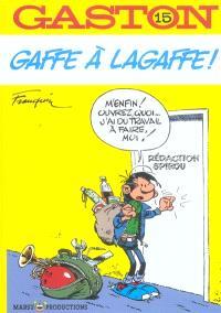 Gaston Lagaffe : spécial luxe. Volume 15, Gaffe à Lagaffe !