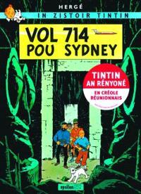 In zistoir Tintin, Vol 714 pour Sydney