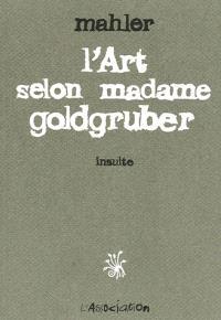 L'art selon madame Goldgruber : insulte