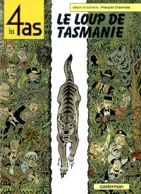 Les 4 as. Volume 40, Les 4 As et le loup de Tasmanie