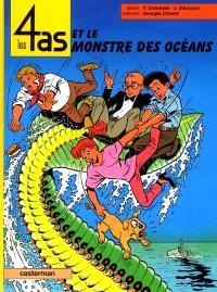 Les 4 as. Volume 38, Les 4 as et le monstre des océans