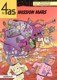 Les 4 as. Volume 42, Mission Mars