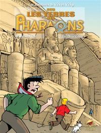 Les aventures de Vick et Vicky, Volume 12, Sur les terres des pharaons. Volume 2, Les Deux Terres
