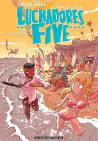 Luchadores five. Volume 2, Lucha beach party