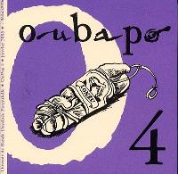 Oubapo. Volume 4, Oupus 4