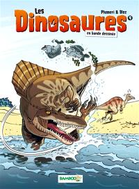 Les dinosaures en bande dessinée. Volume 4