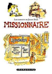 Les carnets de Joann Sfar, Missionnaire