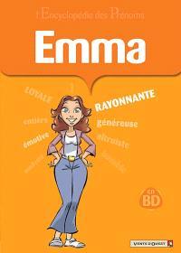 L'encyclopédie des prénoms : en BD. Volume 33, Emma