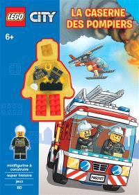 Lego City, La caserne des pompiers